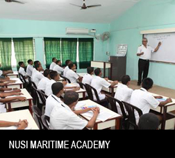 NUSI Maritime Academy Goa and Nhava