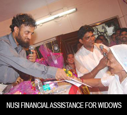 NUSI Financial Assistance for widows of seafarers
