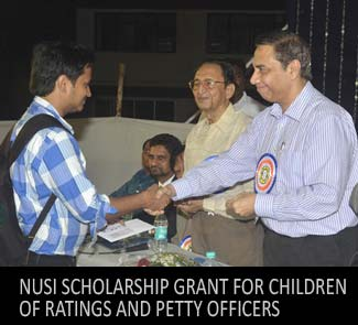 NUSI Scholarship Grant for children of Ratings and Petty Officers
