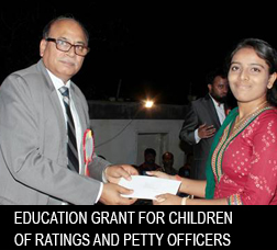 NUSI Education Grant for children of Ratings and Petty Officers