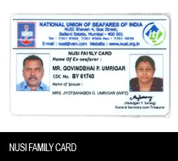 NUSI Family Card