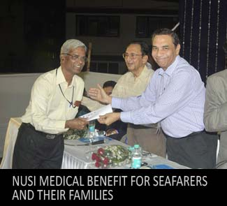 NUSI Medical benefit for Seafarers and their families