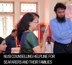 NUSI Counselling Helpline for Seafarers and their families