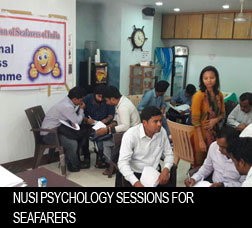 NUSI Psychology sessions for seafarers