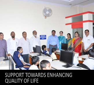 Support towards enhancing quality