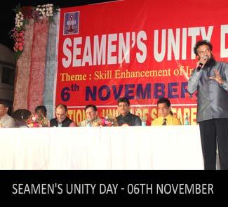 NUSI Seamen's Unity Day - 6th November